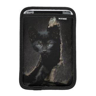 小さく黒い子猫 iPad MINIスリーブ