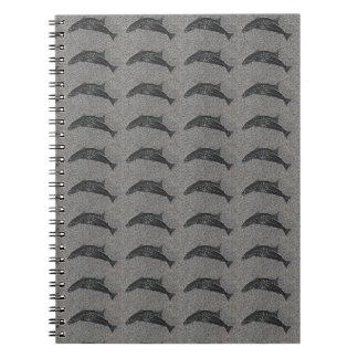 小さく黒い魚 ノートブック