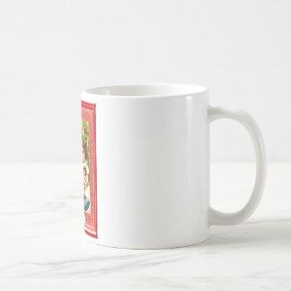 小さな女の子のためのサンタからのギフト コーヒーマグカップ