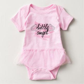 小さな女の子のための衣服少し天使 ベビーボディスーツ
