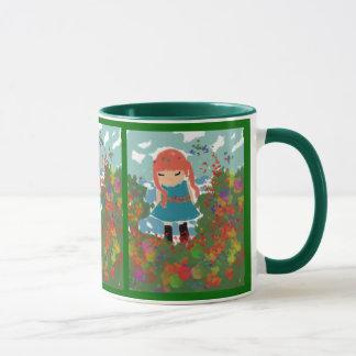 小さな女の子のマグ マグカップ