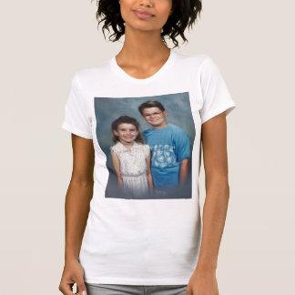 小さな女の子のマレット Tシャツ