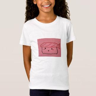 小さな女の子の寿司のTシャツ Tシャツ