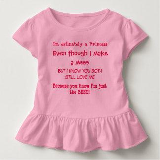 小さな女の子の真実 トドラーTシャツ
