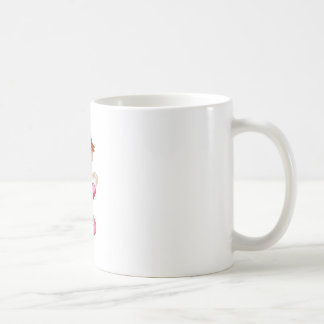 小さな女の子の祈ること コーヒーマグカップ