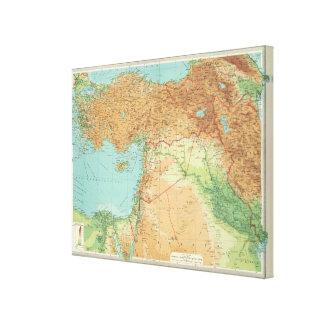 小アジア、シリア及びメソポタミア キャンバスプリント