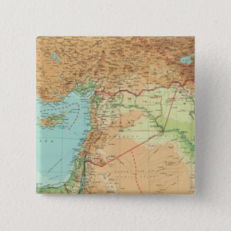 小アジア、シリア及びメソポタミア 5.1CM 正方形バッジ