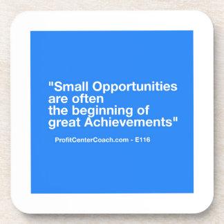 小企業のギフト-小さい機会の達成 コースター