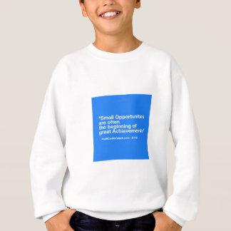 小企業のギフト-小さい機会の達成 スウェットシャツ