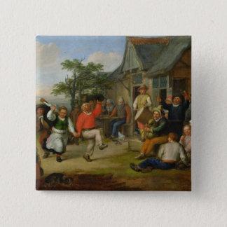小作人のダンス1678年 缶バッジ