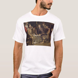 小作人の食事1642年 Tシャツ