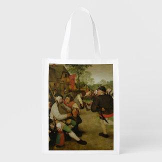 小作農のダンス1568年 エコバッグ