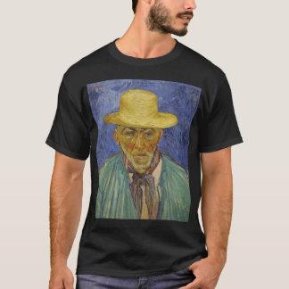 小作農のポートレートoのフィンセント・ファン・ゴッホのポートレート tシャツ