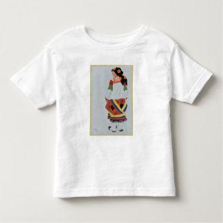 小作農のGirlのためのデザイン、1922年を着せて下さい(色のリチウム トドラーTシャツ