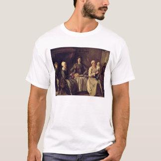 小作農家族1642年(キャンバスの油) Tシャツ