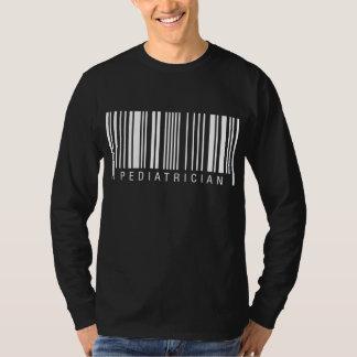 小児科医のバーコード Tシャツ