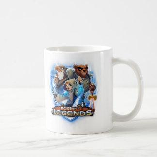 小型の伝説のマグ コーヒーマグカップ