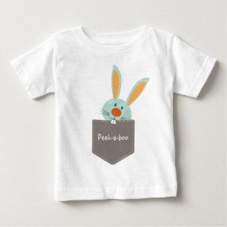 小型の友達:: バニーウサギ2 ベビーTシャツ
