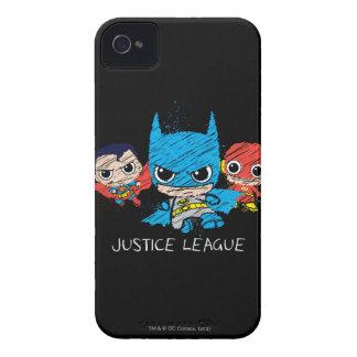 小型ジャスティス・リーグのスケッチ Case-Mate iPhone 4 ケース