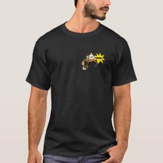 小型スーパーヒーローSockMonkey Tシャツ