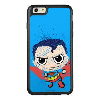 小型スーパーマンのスケッチ オッターボックスiPhone 6/6S PLUSケース