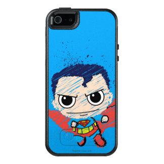 小型スーパーマンのスケッチ オッターボックスiPhone SE/5/5s ケース