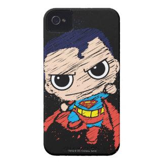 小型スーパーマンのスケッチ-飛びます Case-Mate iPhone 4 ケース