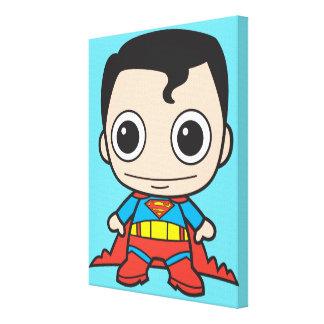 小型スーパーマン キャンバスプリント