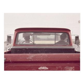 小型トラック1973年 ポストカード