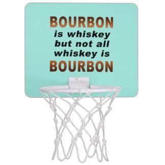 小型バスケットボールたが-すべてのウィスキーがブルボンではないです! ミニバスケットボールネット