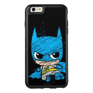 小型バットマンのスケッチ オッターボックスiPhone 6/6S PLUSケース