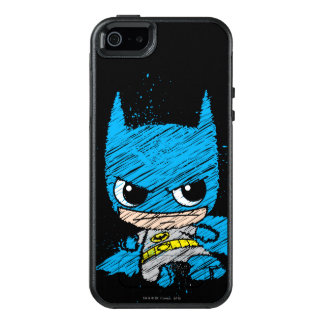 小型バットマンのスケッチ オッターボックスiPhone SE/5/5s ケース