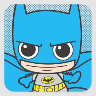 小型バットマンのランニング スクエアシール