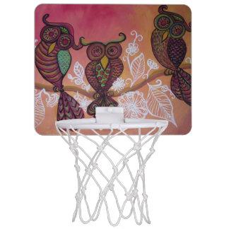 小型フクロウのバスケットボールたが ミニバスケットボールゴール