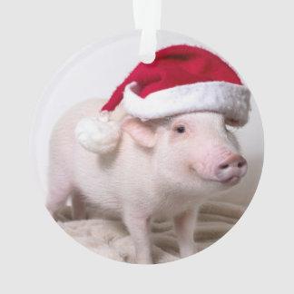 小型ブタのクリスマスのオーナメントをピクルスにして下さい オーナメント