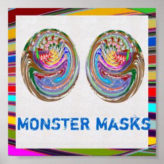 小型ポスター: モンスターMaskes ポスター