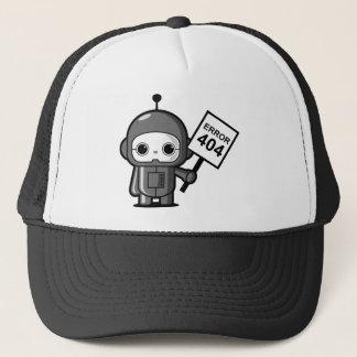小型ロボット(間違い404) キャップ