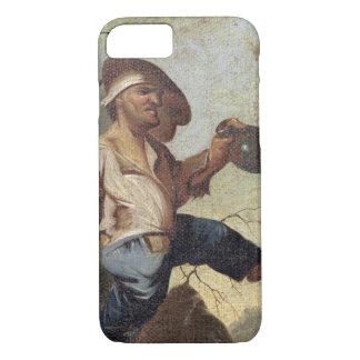 小型保有物水差し(paで置かれるキャンバスの油 iPhone 8/7ケース