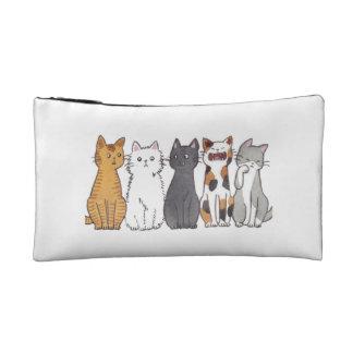 小型子猫の化粧のバッグ コスメティックバッグ