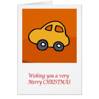 小型小型車: メリーなメリークリスマス カード