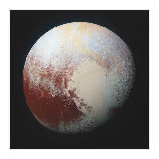 小型惑星プルート キャンバスプリント