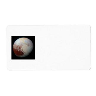 小型惑星プルート ラベル