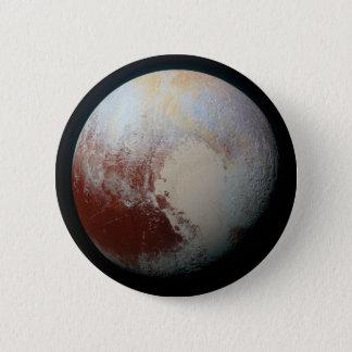 小型惑星プルート 5.7CM 丸型バッジ