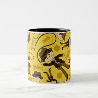 小型探検家のマグ ツートーンマグカップ