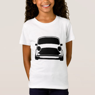 小型明白およびシンプル Tシャツ