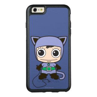 小型猫の女性 オッターボックスiPhone 6/6S PLUSケース
