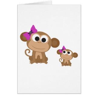 小型私猿 カード