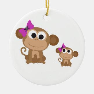 小型私猿 セラミックオーナメント
