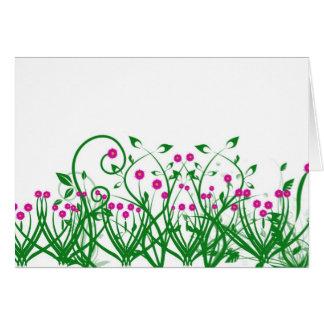 小型花 カード