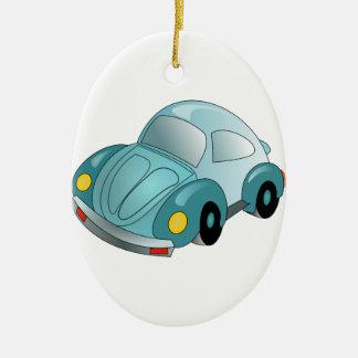小型車 セラミックオーナメント